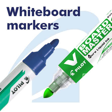 Pilot Whiteboard Markers