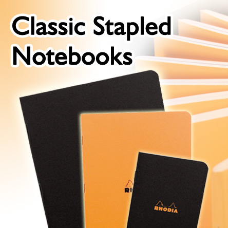 Rhodia Classic Stapled Notebooks