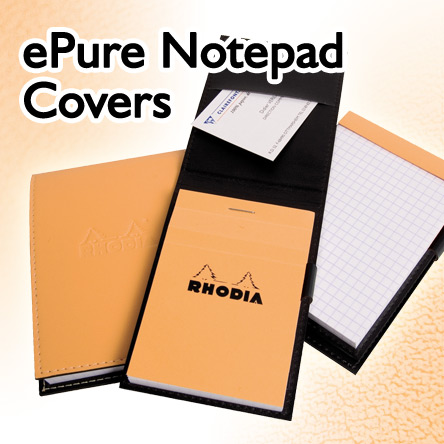 Rhodia ePure Notepad Covers