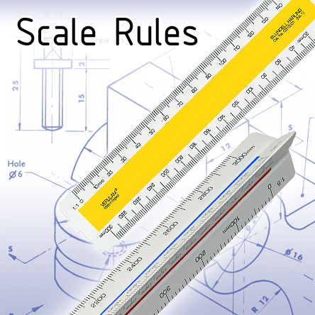 Scale Rules for Drawing