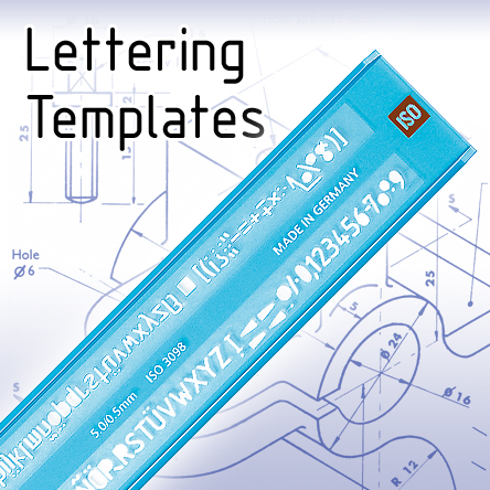 Technical Lettering Templates
