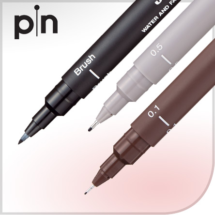 Uni Pin Drawing Pens