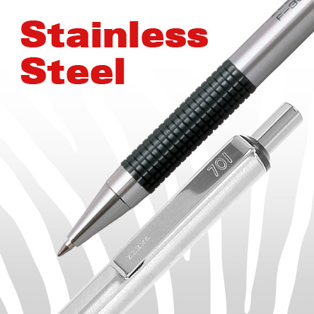 Zebra Stainless-Steel