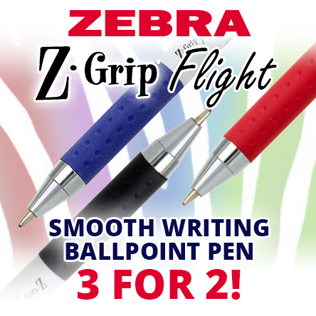 Zebra Z-Grip Flight 3 for 2