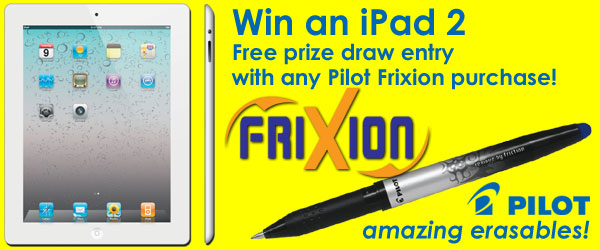 Win an iPad 2 with Pilot Frixion
