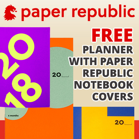 Free planner with Paper Republic