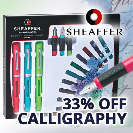 Sheaffer Calligraphy 33% off