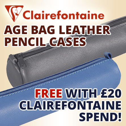 FOC leather case with Clairefontaine