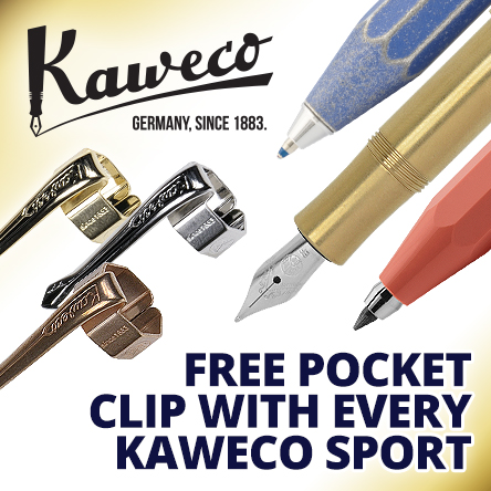 Free clip with Kaweco Sport