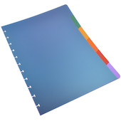 Atoma A4+ Polypropylene Notebook Index Dividers