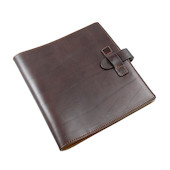 Atoma Pur Leather Folder A5+ Brown