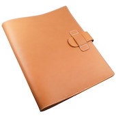 Atoma Pur Leather Folder A4 Natural