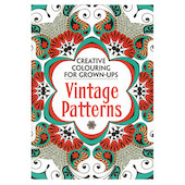 The Vintage Patterns Colouring Book