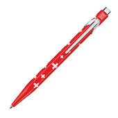 Caran d'Ache 849 Ballpoint Pen Essentially Swiss - Swiss Flag