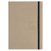 Caran d'Ache Lined A5 Cloth Cover Notebook