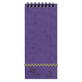 Clairefontaine Europa Listmaker Wirebound Notepad (180x76)