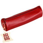 Clairefontaine Age Bag Round Leather Pencil Case