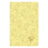 Clairefontaine Neo Deco Sewn Spine Notebook 90x140 Sulphur Yellow