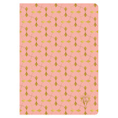 Clairefontaine Neo Deco Sewn Spine Notebook A5 Coral