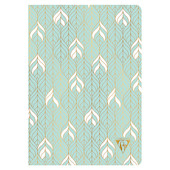 Clairefontaine Neo Deco Sewn Spine Notebook A5 Sea Green