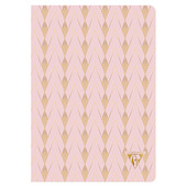Clairefontaine Neo Deco Sewn Spine Notebook A5 Powder Pink