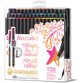 Chameleon Fineliner Set of 48 Assorted