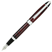 Conklin Victory Fountain Pen Ruby Red