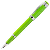 Cleo Skribent Aura Fountain Pen Green Mamba