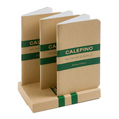 Calepino No.2 Notebook Squared Set of 3