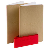 Calepino No.5 Large Notebook Lined Set of 2