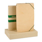 Calepino Portfolio Leather Notebook Cover No.2 Squared