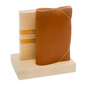 Calepino Portfolio Leather Notebook Cover Wine Tasting