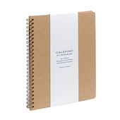 Calepino No.11 Large Spiral Notebook Plain