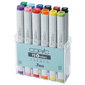 Copic Original Marker Pen Set of 12