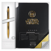 Cross Click Star Wars Special Edition C-3PO Rollerball Pen + Jotzone Journal Gift Set