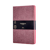 Castelli Harris Notebook 130x210mm Maple Red