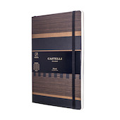 Castelli Tatami Notebook 130x210mm Dark Espresso