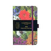 Castelli Eden Pocket Diary 2020 Orchid