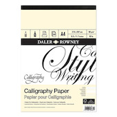 Daler-Rowney Calligraphy Pad A4