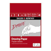 Daler-Rowney Drawing Medium Grain Pad A5