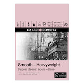 Daler-Rowney Smooth Heavyweight Pad A5