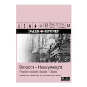 Daler-Rowney Smooth Heavyweight Pad A4