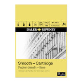 Daler-Rowney Smooth Cartridge Pad A4
