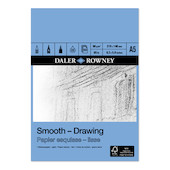 Daler-Rowney Smooth Drawing Pad A5