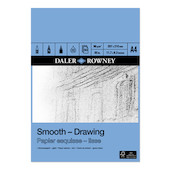 Daler-Rowney Smooth Drawing Pad A4