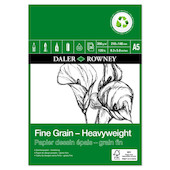 Daler-Rowney Fine Grain Eco Heavyweight Pad A5