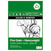 Daler-Rowney Fine Grain Eco Heavyweight Pad A4