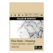 Daler-Rowney Fine Grain Drawing Pad A5
