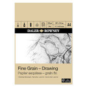 Daler-Rowney Fine Grain Drawing Pad A4