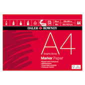 Daler-Rowney Graphic Series Marker Pad A4